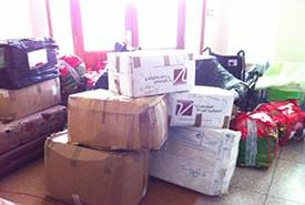 Collecte 2013 Taza et Beni Mellal – 3830€ et 740 Kg